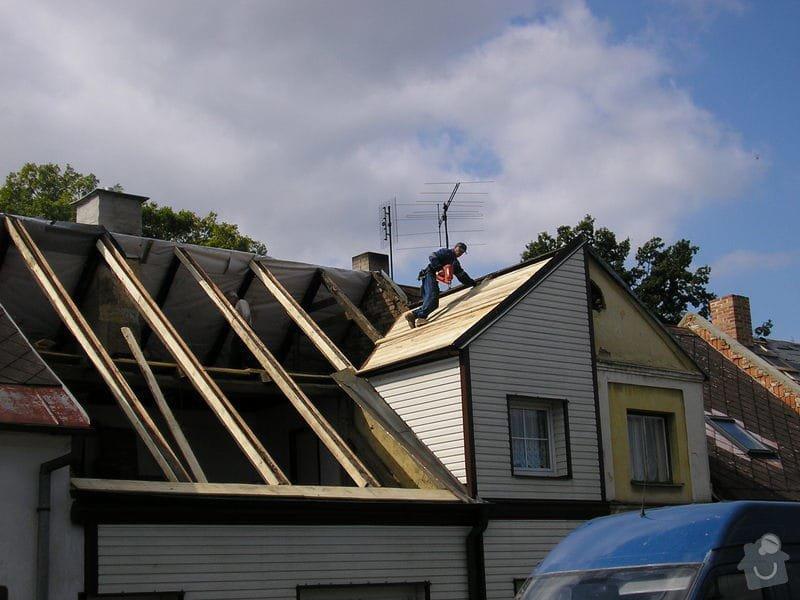 Rekontrukce střechy - dvouplášť: chod_plan_14