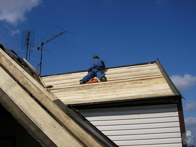 Rekontrukce střechy - dvouplášť: chod_plan_15