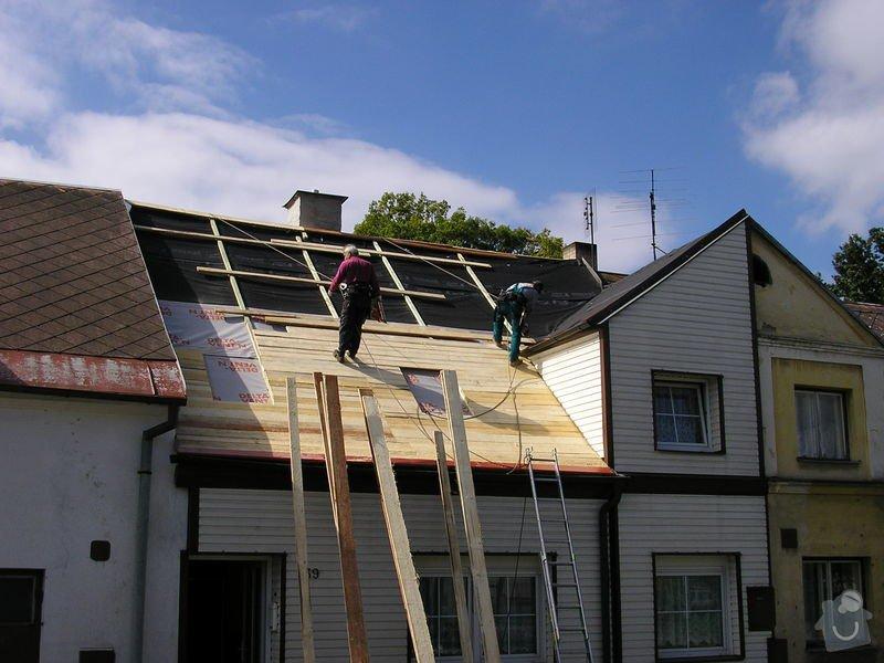 Rekontrukce střechy - dvouplášť: chod_plan_16
