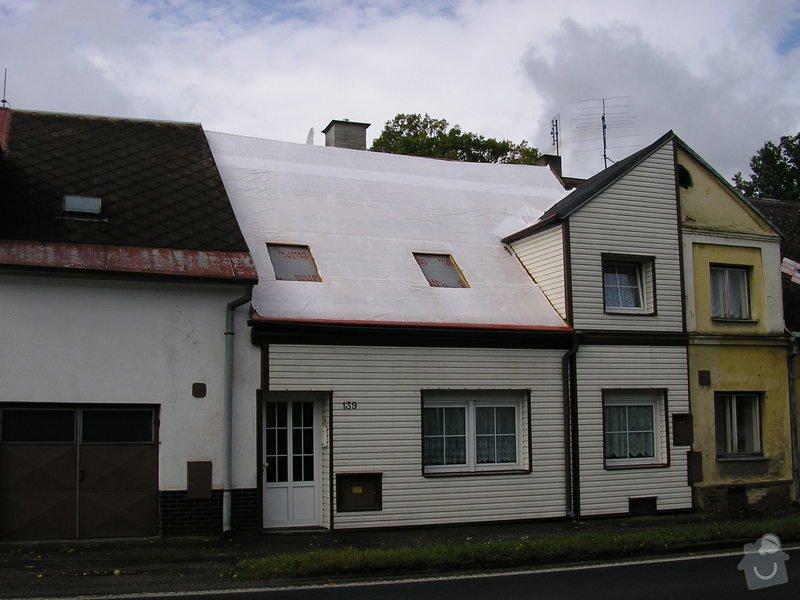 Rekontrukce střechy - dvouplášť: chod_plan_17