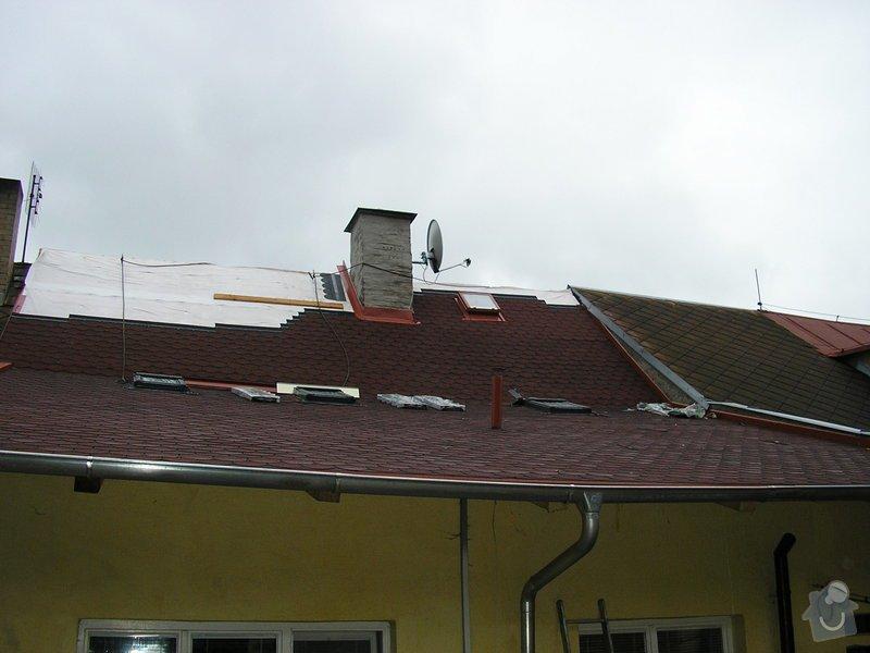 Rekontrukce střechy - dvouplášť: chod_plan_18