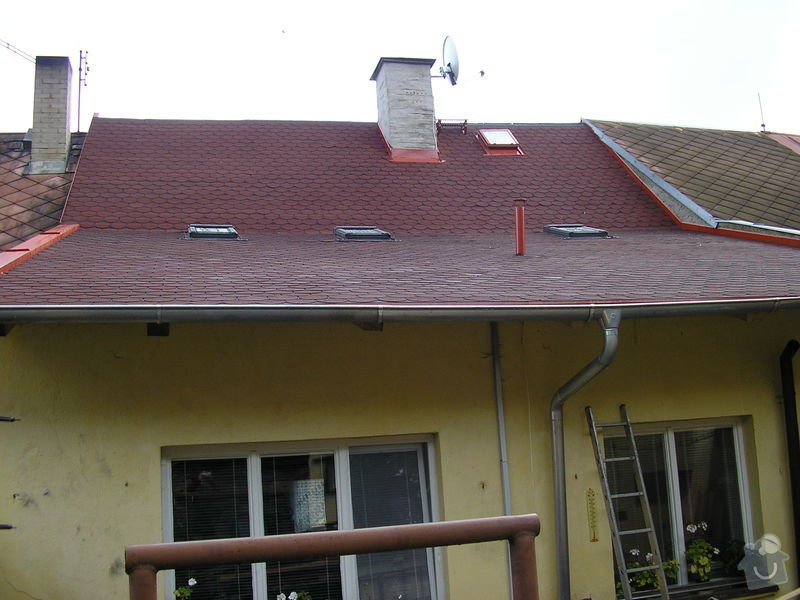 Rekontrukce střechy - dvouplášť: chod_plan_20