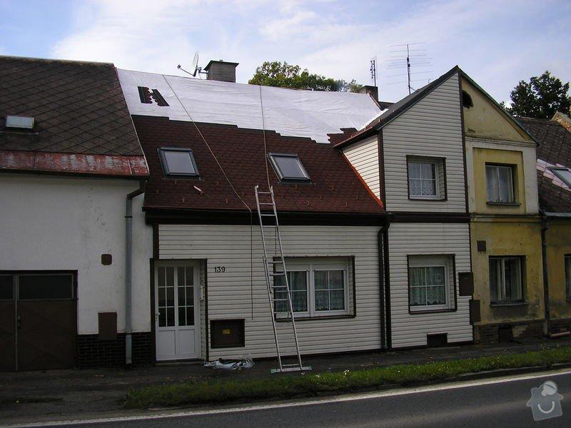 Rekontrukce střechy - dvouplášť: chod_plan_21