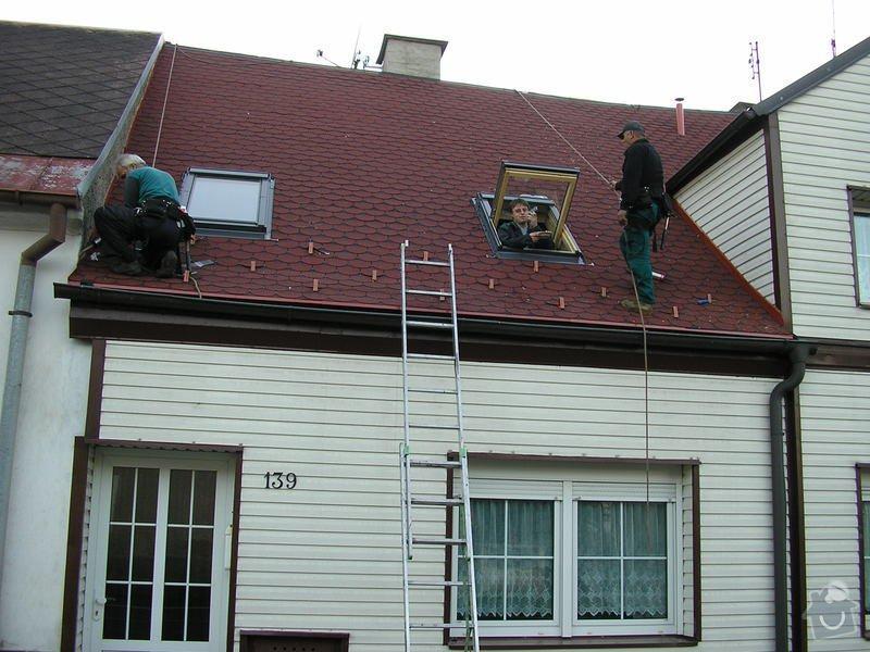 Rekontrukce střechy - dvouplášť: chod_plan_22