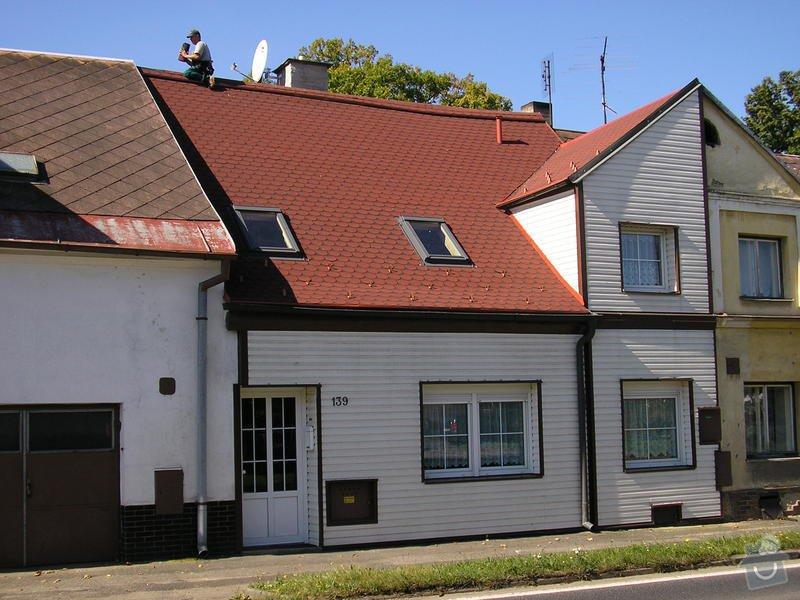 Rekontrukce střechy - dvouplášť: chod_plan_23