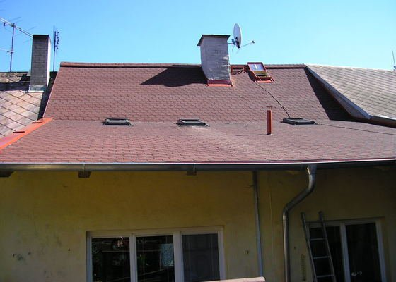 Rekontrukce střechy - dvouplášť