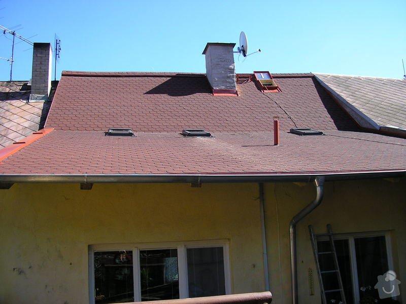 Rekontrukce střechy - dvouplášť: chod_plan_24