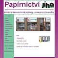 Vytvoreni webovych stranek prodejna papirnictvi jiha