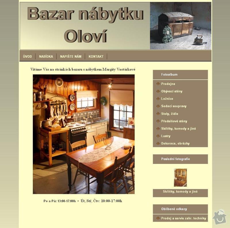 Www stránky - bazar nábytku: bazar_nabytek_olovi