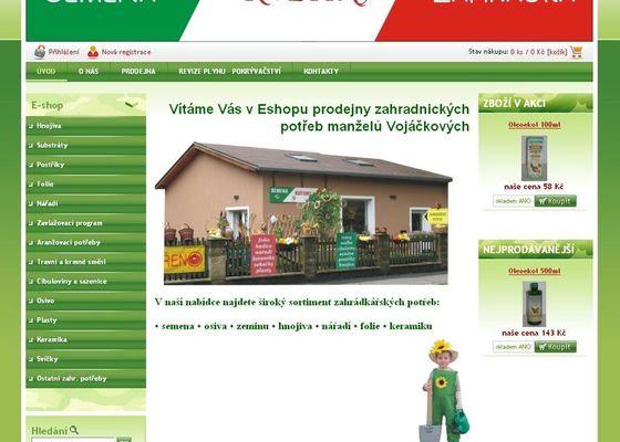 Založení e-shopu - prodej zahradních potřeb