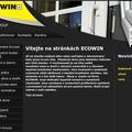 Tvorba internetove prezentace www ecowin cz uvodni strana webu ecowin