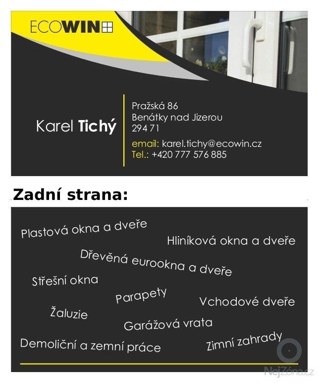 Tvorba internetové prezentace www.ecowin.cz: vizitka_Ecowin