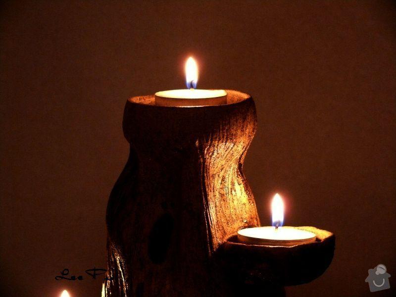 Výroba svícnu: SVI002c