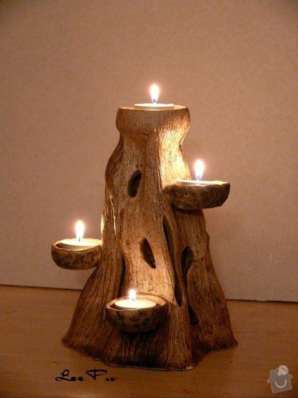 Výroba svícnu: SVI002b