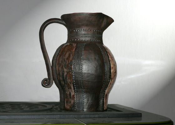 Dekorační džbán
