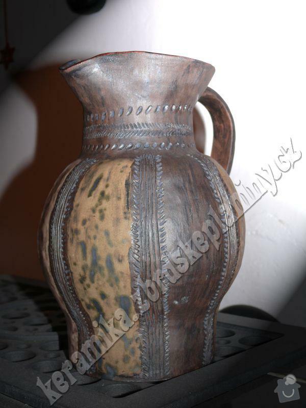Dekorační džbán: DEK006a