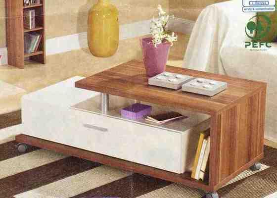Truhláři - konferenční stolek, jídelní stůl