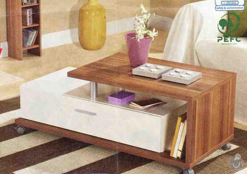 Truhláři - konferenční stolek, jídelní stůl: stolek_20110205