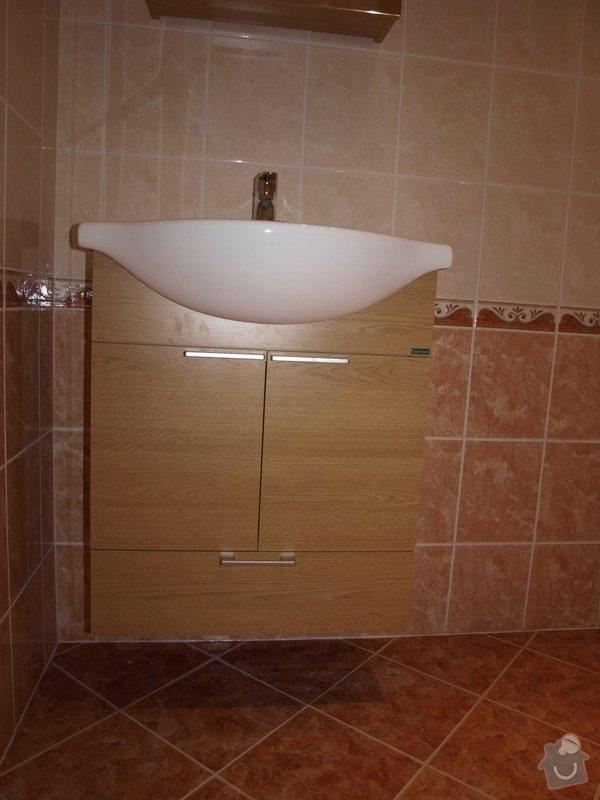 Realizace kuchyňské linky Ikea, koupelnového nábytku: P5058737r