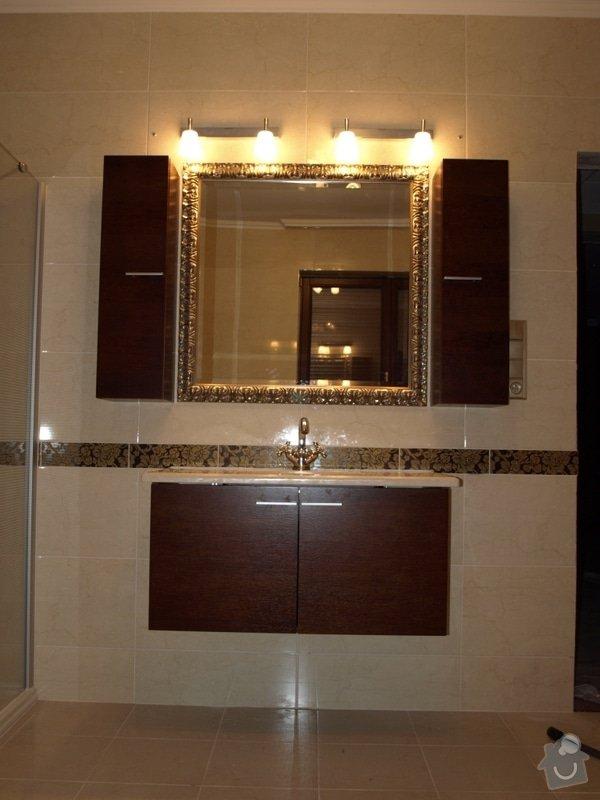 Realizace kuchyňské linky Ikea, koupelnového nábytku: P5058743r