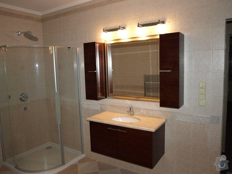 Realizace kuchyňské linky Ikea, koupelnového nábytku: P5058740r
