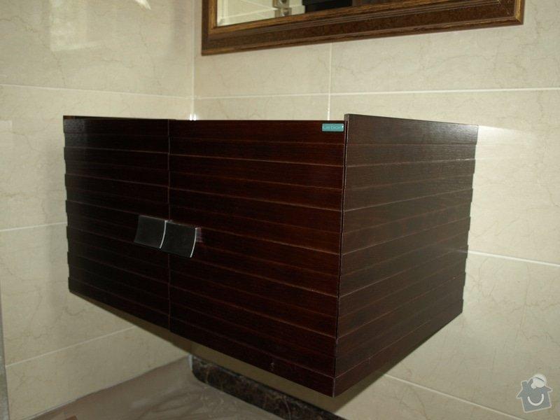 Realizace kuchyňské linky Ikea, koupelnového nábytku: P5058748r