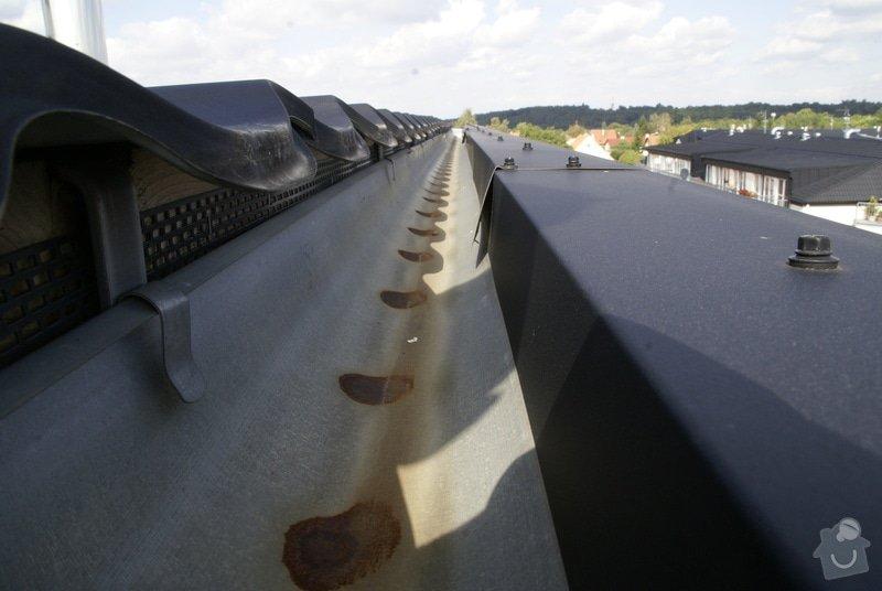 Opravu návaznosti střechy na okap: strecha-3037