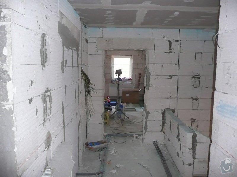 Dokončení horního patra RD : P1090043