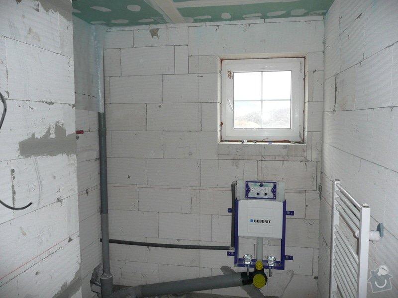 Dokončení horního patra RD : P1090041