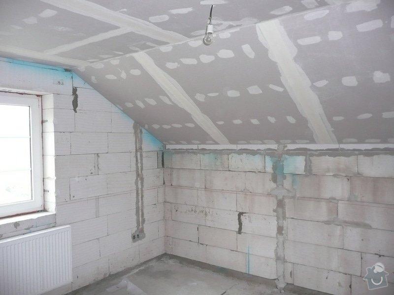 Dokončení horního patra RD : P1090040