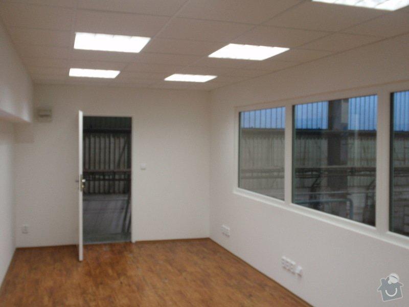 Sádrokartonová vestavba kanceláře.Minerální podhledy,bojler,malování,: P2111306
