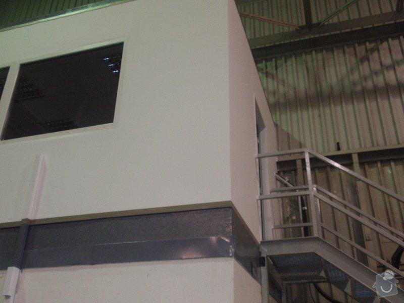 Sádrokartonová vestavba kanceláře.Minerální podhledy,bojler,malování,: P2111294