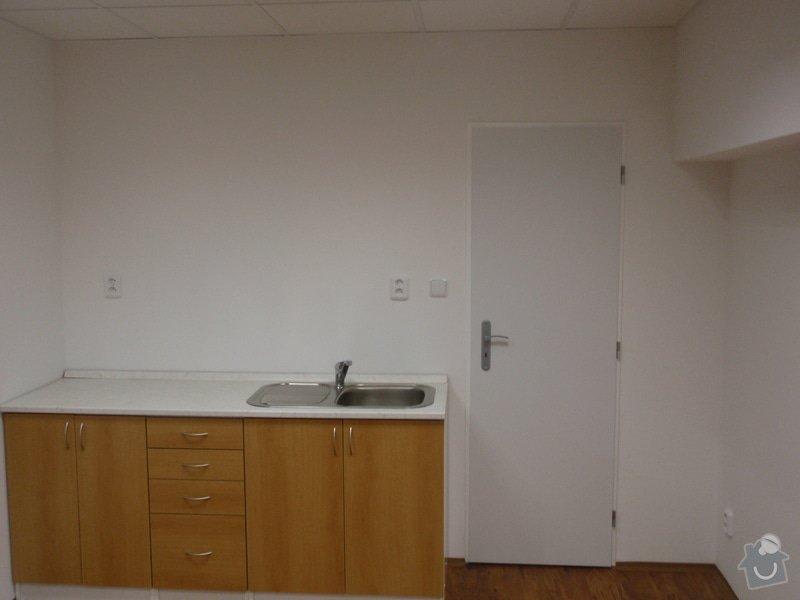 Sádrokartonová vestavba kanceláře.Minerální podhledy,bojler,malování,: P2111299