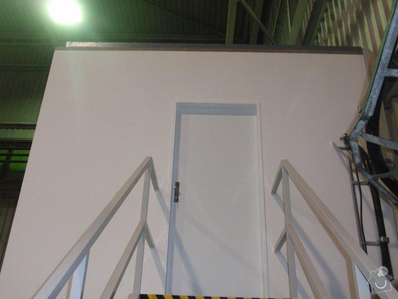 Sádrokartonová vestavba kanceláře.Minerální podhledy,bojler,malování,: P2111319