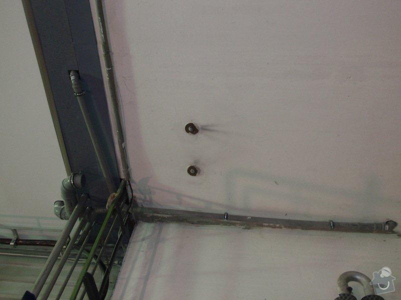 Sádrokartonová vestavba kanceláře.Minerální podhledy,bojler,malování,: P2111321