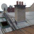 Oprava plechove strechy a kominu 050220112322