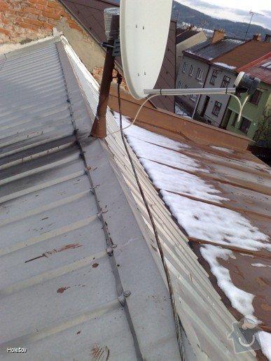 Oprava plechové střechy a kominu: 050220112327