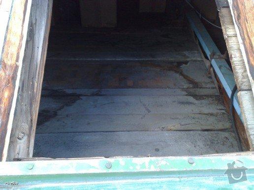 Oprava plechové střechy a kominu: 050220112332