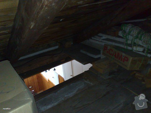 Oprava plechové střechy a kominu: 050220112335