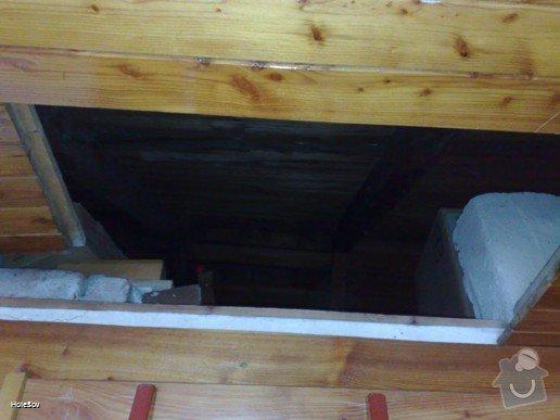 Oprava plechové střechy a kominu: 050220112336