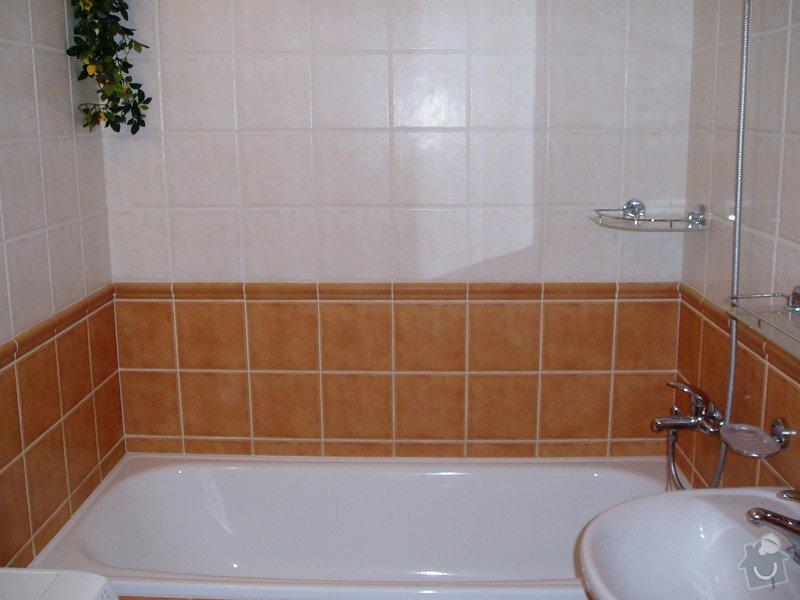 Koupelna panelákový byt.: P2270041