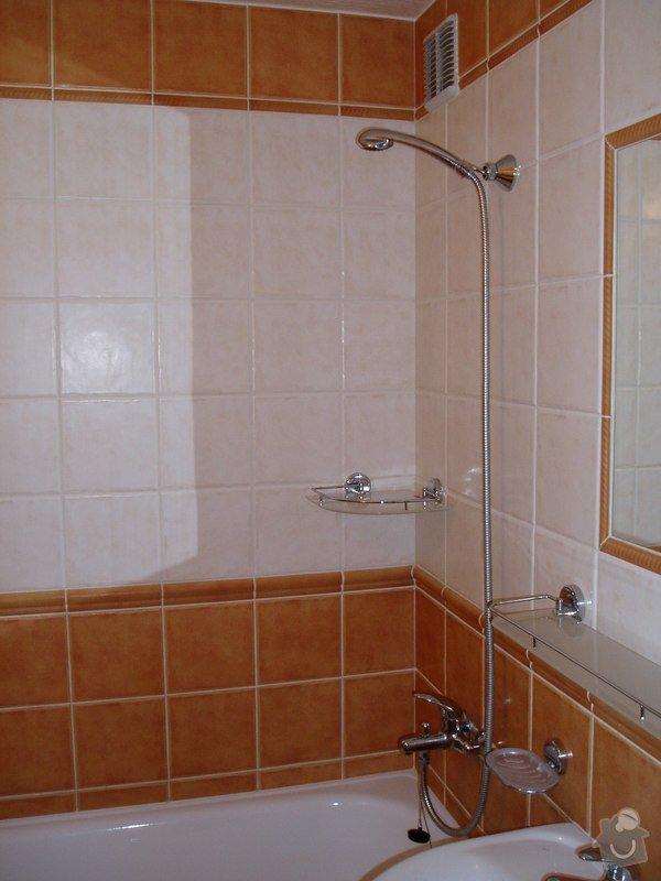 Koupelna panelákový byt.: P2270040