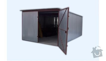 Plechové montované garáže: 3x5...
