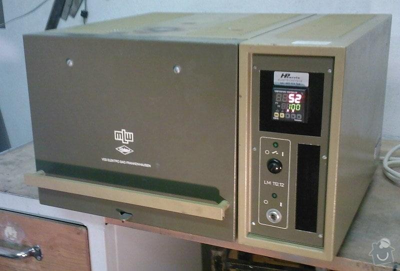 Oprava laboratorní pece: MLW