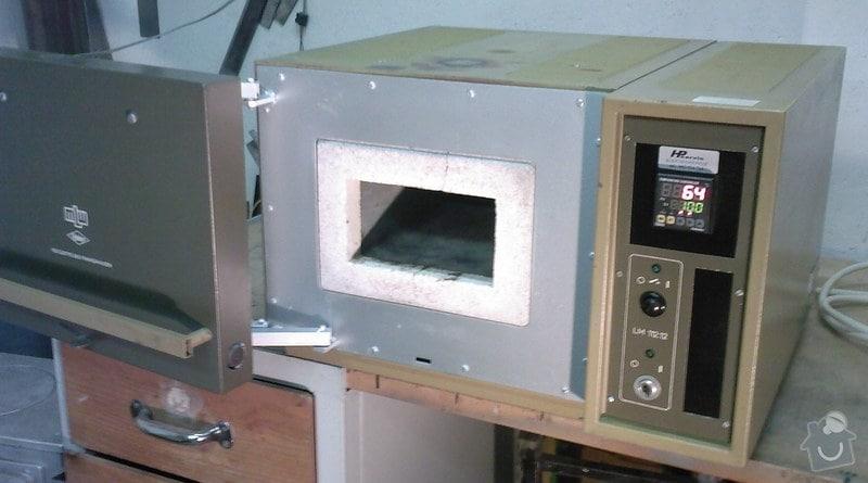 Oprava laboratorní pece: MLW_