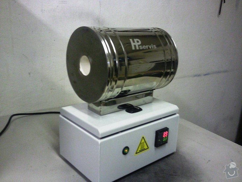 Laboratorní trubková pec: Fotografie0260