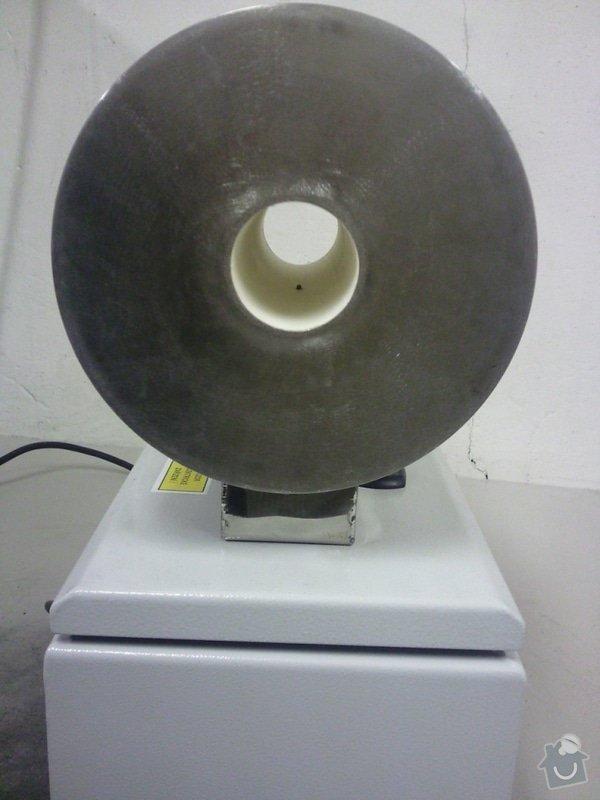Laboratorní trubková pec: Fotografie0259