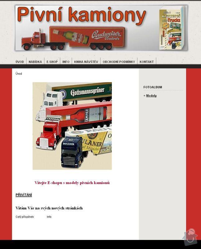 Tvorba 4 www stránek  : pivni_kamiony