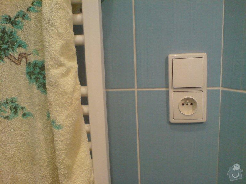 Kompletní rekonstrukce elektroinstalace: zasuvka_koupelna