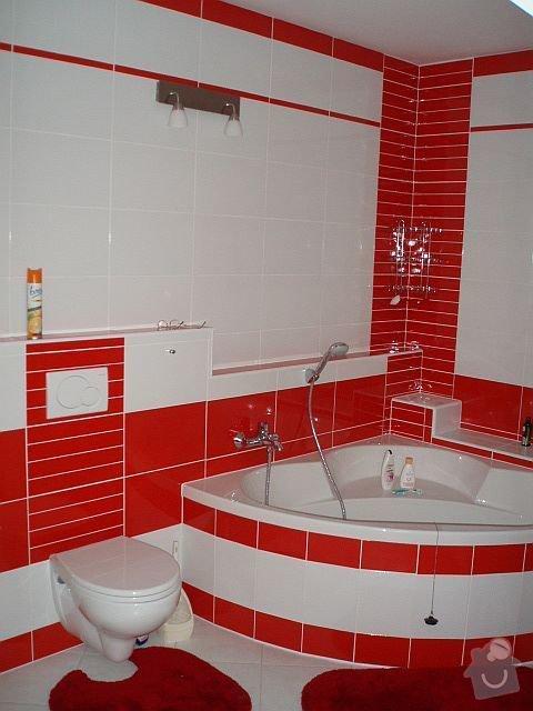 Kompletní interiér - podlahy, obklady, dlažby, instalatérské práce, krb: PA040108
